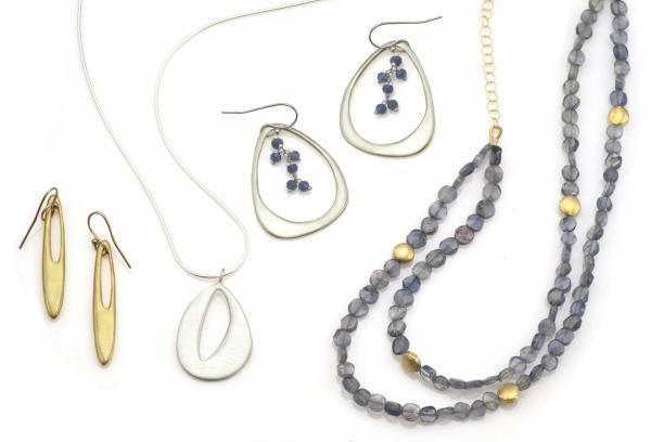 Phillipa Roberts Jewelry. Earrings and necklaces