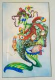"Flamboyant Mermaid. Done in the 1990""s a great version of her old work at a great price!"